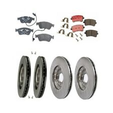 Audi A8 Quattro 2004-2010 Front & Rear Disc Brake Rotors & Pads Brake KIT Brembo