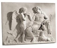 Eros and Dionysus by Bertal Thorvaldsen Sculpture Relief replica reproduction