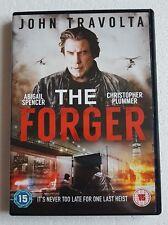 THE FORGER DVD Film Movie John Travolta Christopher Plummer Crime Drama Thriller