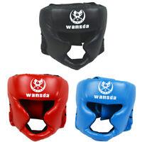 Detachable Bar Head Guard Helmet Boxing Martial Arts Free Comb MMA UFC Protector