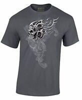 Men's Skull Shirt Day Of Dead Dia De Los Muertos T-Shirt
