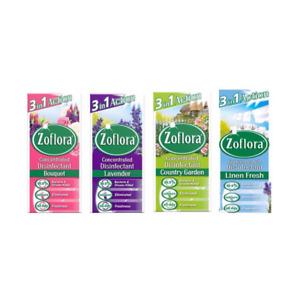 ZOFLORA 120ML lavendar/linnen/bouquet/country garden/cranberry & orange/winter