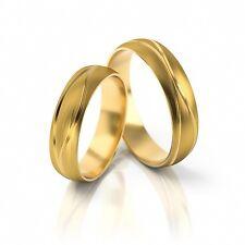 1 Paar Trauringe Eheringe Hochzeitsringe Partneringe 333, 585, 750 Gold massiv