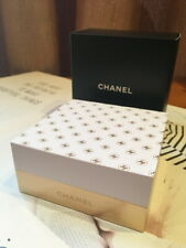 Chanel Beauty Memo Pad Desk Stationery with Gold Metal Base w/ Box