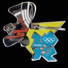 FENCING 2012 LONDON OLYMPIC PIN MASCOT WENLOCK NIP New in package