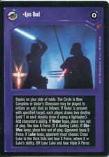 Star Wars CCG Cloud City Card Epic Duel