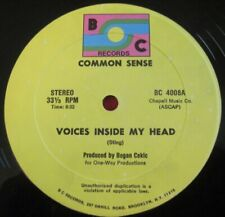 """COMMON SENSE - VOICES INSIDE MY HEAD - BOC BC 4008 STING / THE POLICE 12"""" DANCE"""