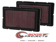 K&N Air Filters / 99-05 Ferrari 360 / 05-10 Ferrari F430 / 07-10 F430 / 33-2494