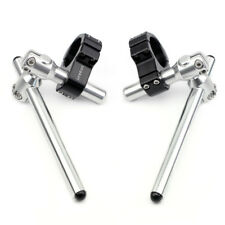 CNC Adjustable Shift Clip-ons 50mm Handle Bars Performance Stunt