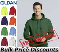 Gildan Mens DryBlend Hooded Sweatshirt Pull Over Blank 12500 up to 3XL