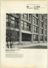 1965 Window Wall In Humanities Building Manchester University