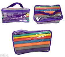 """Diane TV1 Twist-Flex perm Rods 42-pack , 6 sizes , 6 colors, 7"""" long rods"""