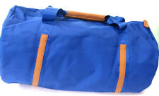 Mujer 92475 azul brillante Bolsón / Bolsa Lona 3 tiradores