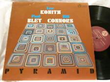 LEE KONITZ & PAUL BLEY Bill Connors Pyramid IAI LP