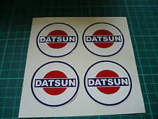 Datsun Wheel Stickers (Four) 50mm