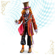 "Disney Store MAD HATTER 13 1/2"" Doll ALICE THROUGH THE LOOKING GLASS Film NIB"