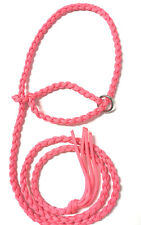 small livestock halter goat sheep alpaca hot pink goat halter