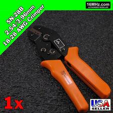 Sn 28b Crimper Crimp Plier Tool 254 396mm 18 28 Awg Dupont 3 Size Jst Molex Us