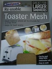 SealAPack Re-Useable Toaster Mesh - Great For Larger Sandwiches