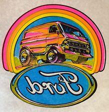 VTG Ford Van 70s vanning E150 E250 Custom Econoline VANS Boogie T-shirt iron-on