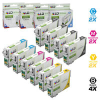 LD Reman Ink Cartridge for Epson T069 Set of 10: T069120 T069220 T069320 T069420