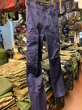 "Men's Youths 28"" Waist Navy Army Combat Style Cargo Pants SALE Commando Trousers"