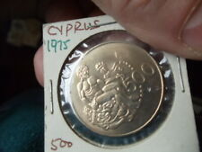 1975 Cyprus 500 Mil Uncirculated