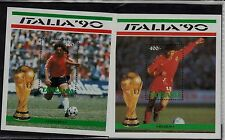 Tanzania Sc 604-5 NH Souvenir Sheets of 1990 - Soccer
