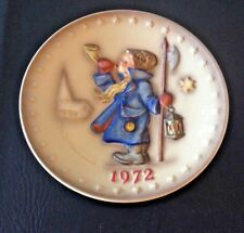 """Hummel 265, Annual Collector 7"""" Plate, Dated 1972"""