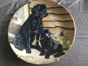Royal Doulton Collectors Plate Nigel Hemming - Like Father Like Son