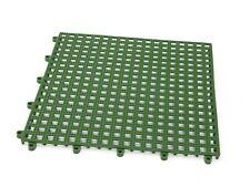 Piastrelle plastica pavimento antiscivolo giardino, piscina 33x33 cm
