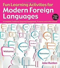 Fun Learning Activities for Modern Foreign Languages By Jake Hunton Progress NEW