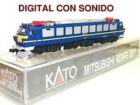 DIGITAL SONIDO - KATO 137-1330 Eléctrica 251 004-8 RENFE NUEVA OVP Escala N