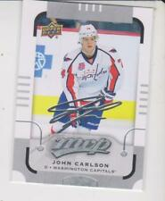 2015-16 Upper Deck MVP #132 John Carlson Washington Capitals Silver Script