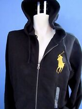 NWT POLO RALPH LAUREN FULL-ZIP SWEATSHIRT, HOODIE, BIG GOLD PONY, S, M, L, XXL
