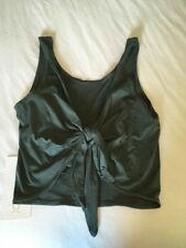 Lululemon Its A Tie Tank Dark Forest Green Size 6 NWT