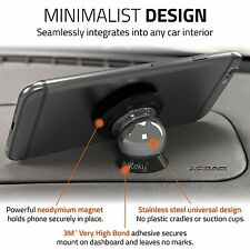 Best Car Phone Holder 100% Universal Magnetic Dashboard Mount Kit by Wuteku®
