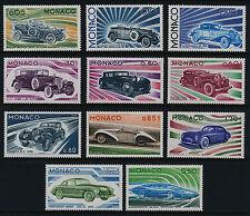 MONACO 1975 Development of Automobiles set MLH VF
