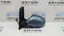 SEAT ALTEA TOLEDO 04-09 PASSENGER SIDE ELECTRIC POWERFOLD WING MIRROR BLUE LS5V