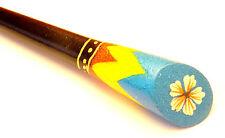 Pic à Cheveux en Bois Pique Ethnique Chignon  Wooden Hair Stick artisanal fleur