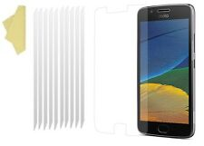 [PACK OF 10] CLEAR Screen LCD Protector Cover Guards for MOTOROLA MOTO G5 PLUS