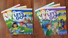 Let's Go 5th edition Student Book level 1,2,3,4,5,6 (6 books) with CD- ROM