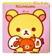 San-X RILAKKUMA Pink Car Road Tax Disc License Holder Vacuum Decal Sticker