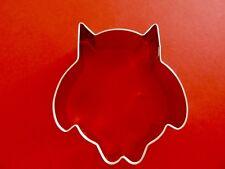 "Ann Clark 3 1/2 ""  Cute Owl Cookie Cutter  Tin Plated Steel USA"