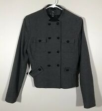 H&M Wool Military Style Coat 6