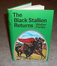 Walter Farley - The Black Stallion Returns - scarce Gibraltar HB book CLEAN