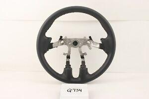 NEW OEM Mitsubishi Eclipse leather wrap steering wheel nice 4400A290HA 06-12