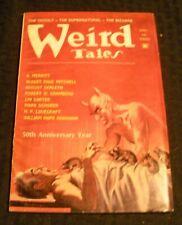 1973 Winter WEIRD TALES Pulp Magazine v.47 #3 VG+ 4.5 H.P. Lovecraft