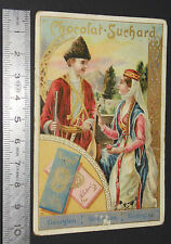 CHROMO 1890-1900 CHOCOLAT SUCHARD NEUCHATEL SUISSE GEORGIE GEORGIEN GEORGIENNE