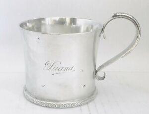 Rare Australian sterling Mug /cup or tankard,Sydney, NSW, hallmarked late 19th